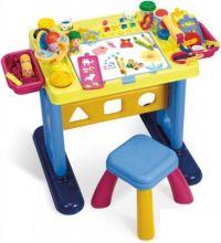 Столик для творчества, табурет, 50 аксес. PlayGo