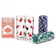 Подарочный набор для игры в покер 60 фишек GBC206